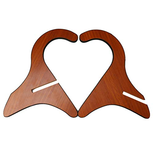 Pengxiaomei Ukulele Stand, Wooden Base Supporter Portable Stand Holder for Mandolin, Banjo and violin