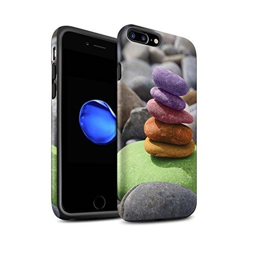STUFF4 Matte Harten Stoßfest Hülle / Case für Apple iPhone 6+/Plus 5.5 / Zen Statue Muster / Innerer Frieden Kollektion Auswuchten Steine