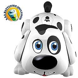 Roboterhund Harry. Der süße Dalmatiner Welpe reagiert auf Berührungen & bewegt sich, bellt und klingt wie ein Hund. Für Kinder ab 24 Monaten