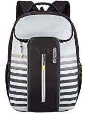 American Tourister Yongo 33 Ltrs Grey Casual Backpack (FU8 (0) 08 001)