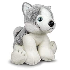 Tobar-Tobar-37238 - Peluche Husky Animigos World of Nature, Color marrón