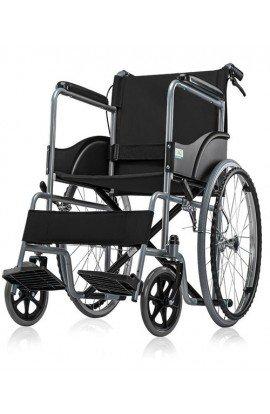 ME Premium Imported Folding Wheelchair with Seat Belt / Dual Break - Wheel Chair