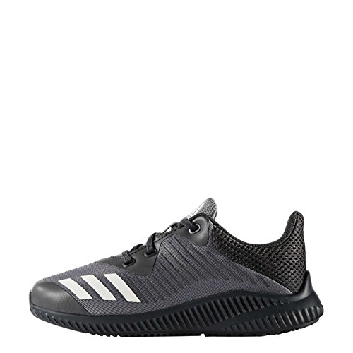 adidas FortaRun K BA7884 Jungen Schnürhalbschuh sportlicher Boden WHITE/WHITE/WHITE