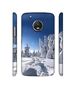 Casotec Winter In Finnland Design 3D Printed Hard Back Case Cover for Motorola Moto G5 Plus