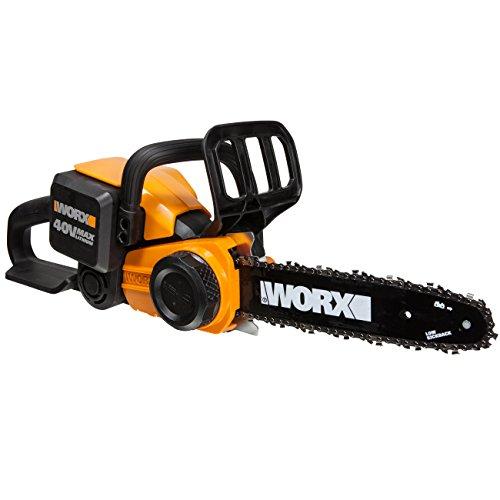 Motosierra Worx eléctrica 40V Li-Ion WG368E