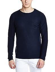 Gas Mens Wool Sweater (8056775114482_87832194_Medium_Navy Blue)