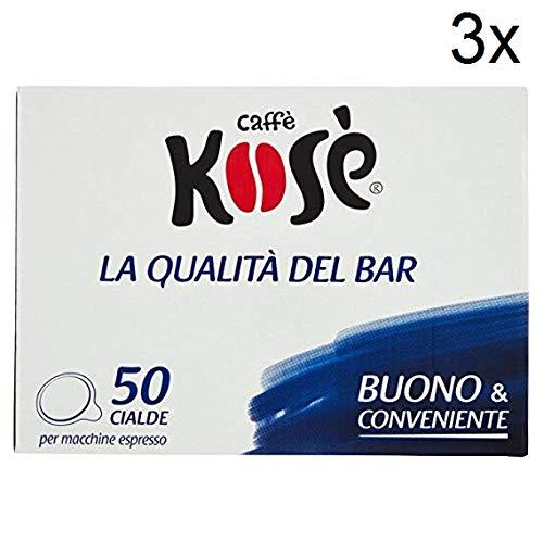 150X kose audace Kimbo cialde di caffè espresso caffè ESE Pads caffè 44mm
