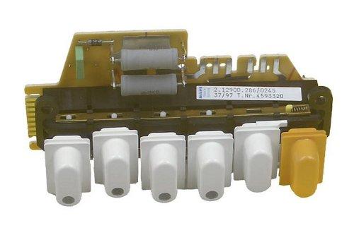 Schalter (6 Drucktasten 2.12900.246/0231) Waschmaschine 4593320 Miele