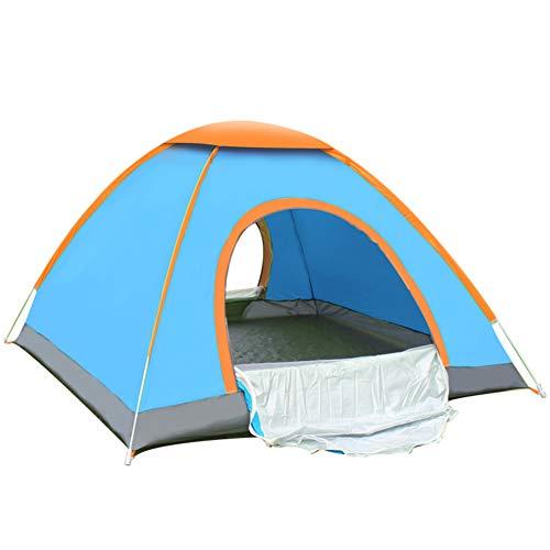 TonXiory Geschwindigkeit offen Zelt,Camping, Picknick wandern Strand Anti-regensturm verdicken, Zelt Kinder wasserdicht Sonne unterstände mit einfachem Setup-Blau 200x140x110cm(79x55x43inch)