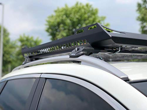 LTS AUTO Dachgepäckträger für Nissan Qashqai SUV schwarz mit Dachgepäckträger und Dachgepäckträger ab 2007-2013