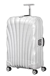 SAMSONITE Lite-Locked - Spinner 69/25 Bagage Cabine, 69 cm, 68 liters, Blanc (Off White)