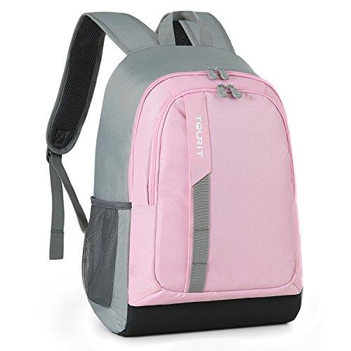 TOURIT Kühltaschen 25l Leichte Lecksicher Tasche 28 Dosen Groß Kapazität Isoliertasche Kühler Rucksack für Picknick Camping Wandern