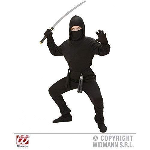 Black Ninja Kinder Kostüm - Einfaches Ninjakostüm