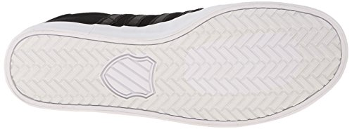 K-Swiss Belmont So T M, Baskets Basses femme Noir - Noir (noir/blanc)