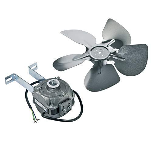 Ventilator Lüfter Gebläse Kühlgerätegebläse Kühlgerätelüfter Motor Kühlgerätelüftermotor Lüftermotor 10 Watt 230V Kühlschrank Gefriergerät Kühlautomat universell einsetzbar -