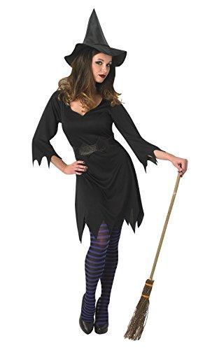 Erwachsene Für Kostüme Halloween Hexe (Rubie 's Offizielles schwarz Enchantress Hexe Kostüm für Erwachsene)