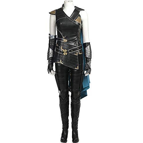 Erwachsene Marvel Kleidung Weibliche Halloween Thor Göttin Valkyrie Krieger Mantel Cosplay Kostüm (Weiblichen Superhelden Kostüm Babys)