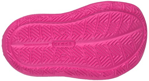 crocs Damen 204021 Mokassins Oxford Pink (Neon Magenta)