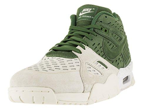 Nike Air Trainer 3 le, Scarpe da Corsa Uomo, Talla Grigio / Bianco / Nero (Treeline / Treeline-Sail-White)