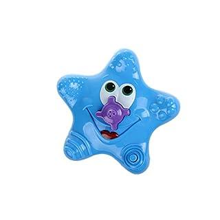 Baby Bath Toys Electronic Starfish Sprinkler Spray Toys, Baby Bathtub Toys Swimming Bath time Dabble Toy Rotating Fountain Bath Toys for Toddlers Children Boys Girls by Asdomo