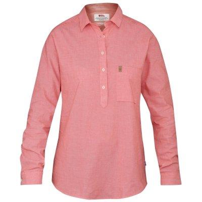 Fjällräven Damen Kiruna Shirt LS W Oberhemd, Hibiscus, S
