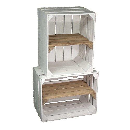 wwweuropaletten-kaufde-set-zwei-weisse-gebrauchte-obstkisten-mit-regalboden-vom-kistenbaron-perfekt-als-buecher-oder-schuhregal