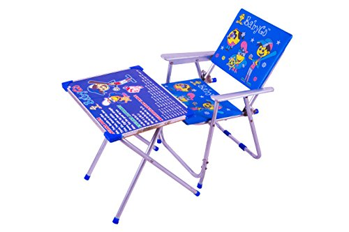 BabyGo Baby and Kids Table Chair Set Toy Set (Blue)