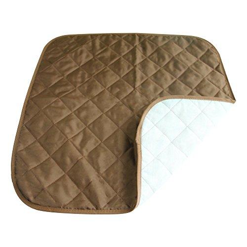 lagen, 52 x 52 cm Waschbar Wasserdichte Sitzschutz Auflage, Universal Car Interior Seat Protector Mat Pad Passen die Meisten Auto, LKW, SUV Oder Van (Kaffee) ()