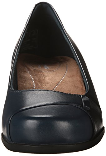 Clarks Rosalyn Belle Kleid Pump navy leather