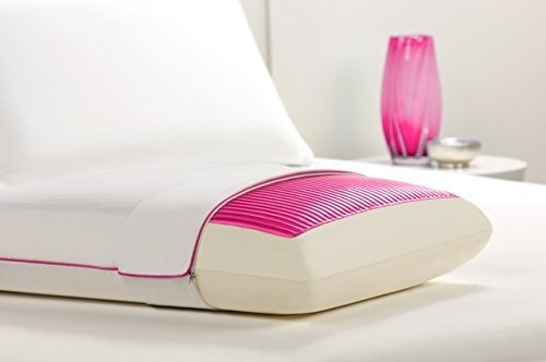 Comfort Revolution FROSTED PINK WAVES 200-0A Hydraluxe Cooling Gel Bed...