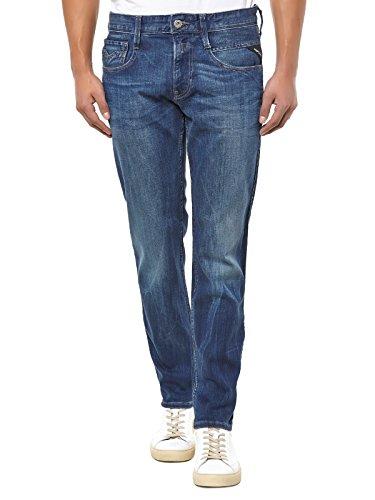 Replay Anbass-jeans Uomo    Bleu - Bleu Collare Taglia: 38