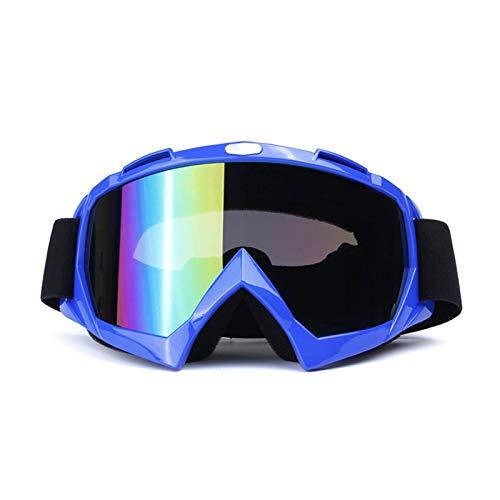 Aienid Sportsonnenbrille Damen Blau Skibrille Winddichter Augenschutz