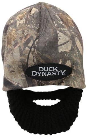Dynastie De Duck Duck Costume - Barbe Tête Duck Dynasty Camouflage Barbe Bonnet,