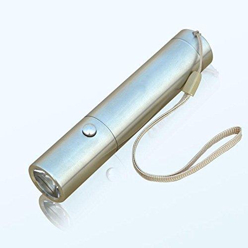Jia&he Q5 Edelstahl helle helle Taschenlampe Schalter 18650 Akkus lange Schl?ge pro wasserdicht , A