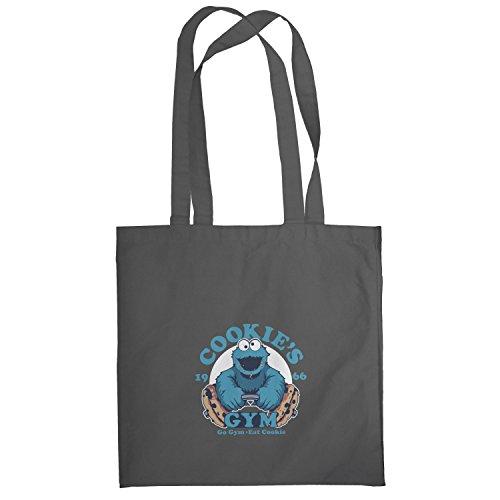 Texlab–Cookie s Gym–sacchetto di stoffa Grau