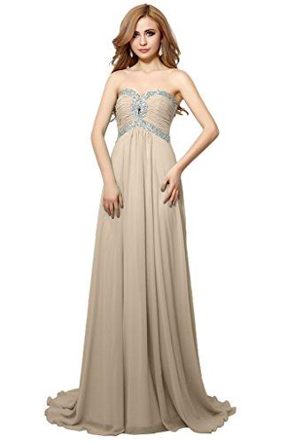Victory Bridal Firsisch Pailletten Abschlussfeier Heimkehr Ballkleider Abendkleider Festlichekleider Champagner