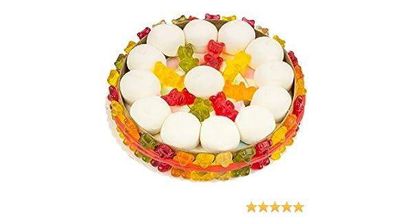 Gummibaren Torte Fruchtgummi Mit Marsh Mellows Zum Geburtstag 18 Cm Durchmesser 460 G Amazonde Lebensmittel Getranke