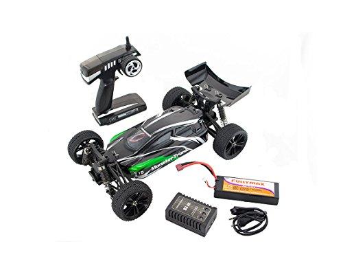Preisvergleich Produktbild Monstertronic 1:10 Elektro Buggy Fighter Pro 4WD Brushless RTR 2, 4Ghz