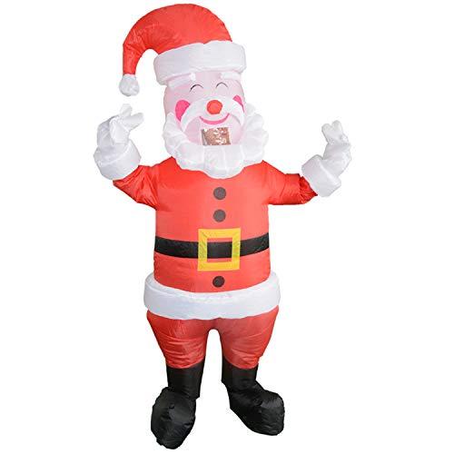 LOVEPET Weihnachten Outdoor Dekorationen Weihnachtsmann Schneemann Aufblasbare Kostüm Familie Aktivitäten Jährliche Party Performance Party Kostüm Maskerade Requisiten