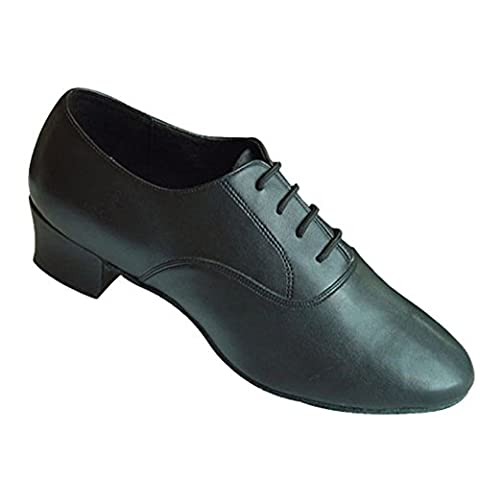 chaussures adultes latine/Homme chaussures de danse de salon/chaussures de danse de salon-A Longueur du pied=26.8CM(10.6Inch)