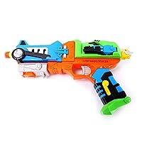 PowerLead Psbg G010 Transformer Strike Blaster Gun with Foam Darts(Random color)