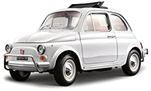 BBurago - 15032 - Voiture sans pile - Construction - Kit Fiat 500 L 1968 - échelle 1/18