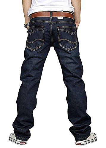Newfacelook New Designer Fashion Denim Blue Jeans tenue décontractée Pantalons Bleu