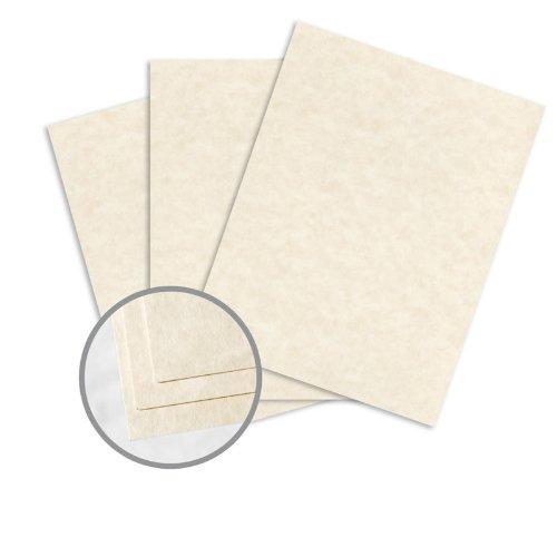 astroparche natur Papier-81/5,1x 27,9cm 60Lb Text Pergamentpapier 30% recycelte 500Pro Ries - Papier Lb 60