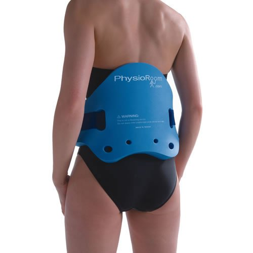PhysioRoom Schwimmgürtel Aqua Gürtel - Ideal für Aqua Jogging, Aqua Fitness, Wasser Gymnastik & Rehabilitation - Wassergürtel in Blau - Bis zu 110 kg - Individuelle Anpassung - Für Damen & Herren