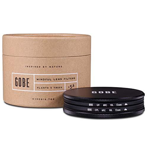 Gobe Filter Kit 72mm MRC 16-lagig: UV + CPL-Polarisator