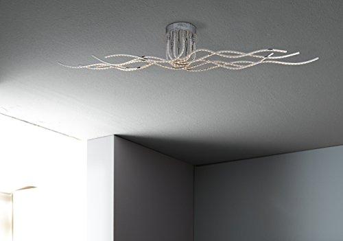 Lampada Led Da Soffitto : Wofi lampada led da soffitto watt lumen