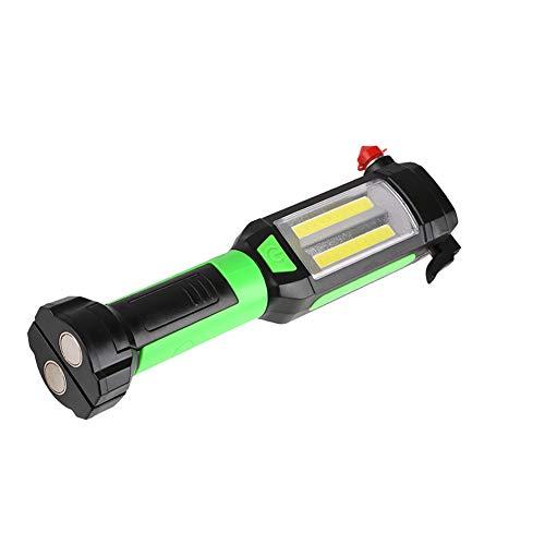 WYX Nouveau LED Torche Multifonction intégré Batterie USB Charge avec Travail magnétique lumière Entretien lumière Marteau de sécurité lumière