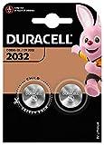 Pile Bouton Lithium Duracell Spéciale 2032 3V, Pack de 2 (DL2032/CR2032), Conçue pour une Utilisation dans les Porte-Clés, Balances et Dispositifs Portables et Médicaux...