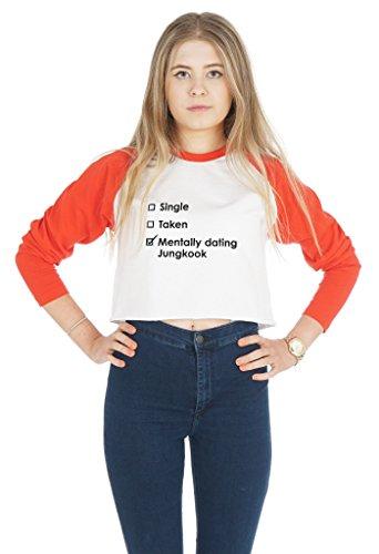 Sanfran Clothing Damen T-Shirt White (Red)